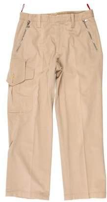 Prada Sport Cargo Flat Front Pants