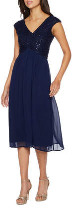 TIG II Melrose Sleeveless Embellished Fit & Flare Dress