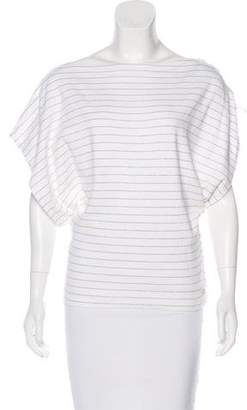 Sonia Rykiel Striped Jersey Top