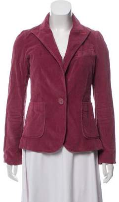 Marc by Marc Jacobs Corduroy Button-Up Blazer