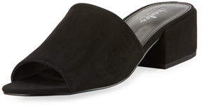 Charles by Charles David Videl Sueded Low-Heel Slide Sandal