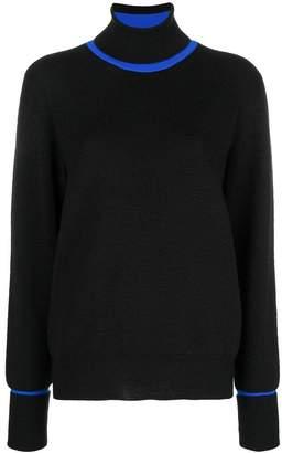 Maison Margiela contrast collar jumper