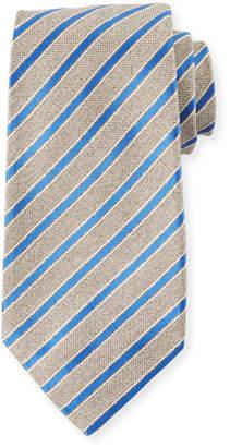 Kiton Men's Narrow Stripe Tie