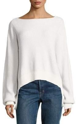 Helmut Lang Boatneck Pullover Sweater