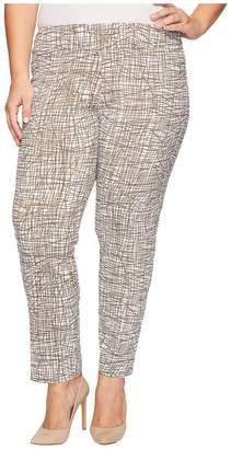 Krazy Larry Plus Size Pull-On Ankle Pants Women's Dress Pants