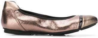 Hogan Wrap ballerina shoes