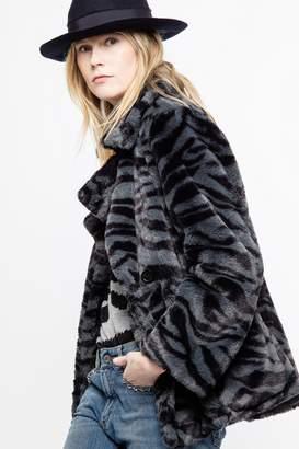 Zadig & Voltaire Miles Tiger Coat
