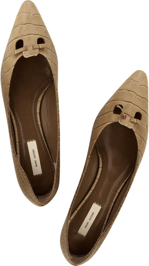 Marc Jacobs Stamped leather Mouse shoes