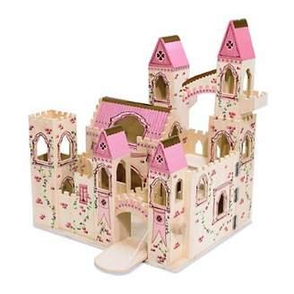 Melissa & Doug Folding Princess Castle - Ages 3+