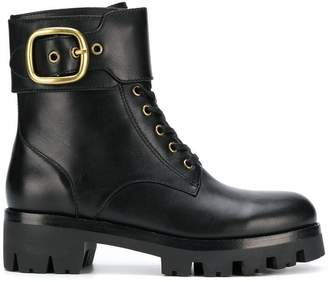 Coach (コーチ) - Coach Lucy lace-up booties