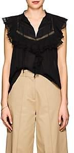 Ulla Johnson Women's Fannie Cotton Blouse - Black