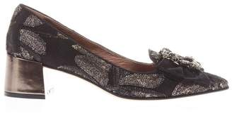 ras Tapestry Loafers With Jewel