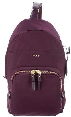 Tumi Nylon Leather-Trim Backpack
