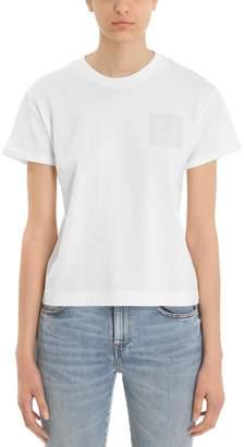 Mauro Grifoni White Cotton Smile T-shirt