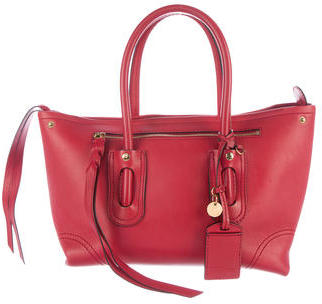 Alexander McQueen Alexander McQueen Leather Folk Satchel