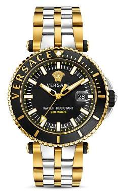 Versace V-Race Diver Watch, 46mm