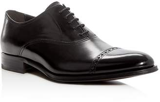 To Boot New York Anton Brogue Cap Toe Oxfords $425 thestylecure.com