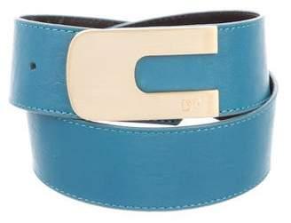 Diane von Furstenberg Rebecca Leather Belt w/ Tags