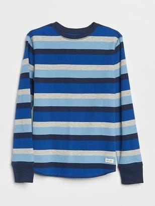 Gap Stripe Textured-Knit T-Shirt