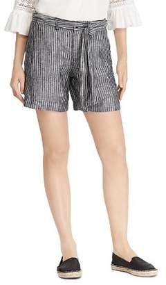 Ralph Lauren Striped Linen Shorts