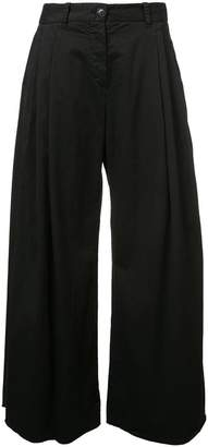 Nili Lotan flared wide leg trousers