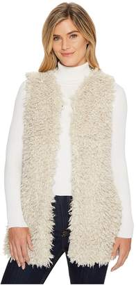 True Grit Dylan by Adrija Pile Soft Cozy Vest with Side Pockets and Knit Lining Women's Vest