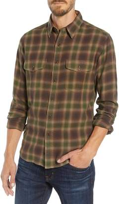 Frye Marlon Plaid Flannel Shirt