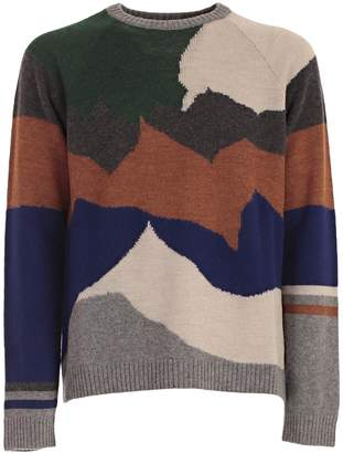 Lanvin Mixed Knit Jumper