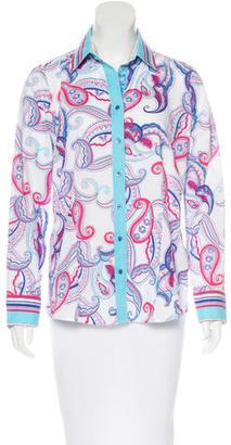 Robert Graham Paisley Long Sleeve Shirt $65 thestylecure.com