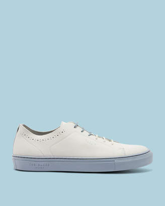 Ted Baker UURLL Contrast sole leather sneakers