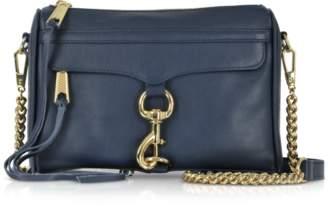 Rebecca Minkoff True Navy Leather Mini M.A.C. Crossbody Bag
