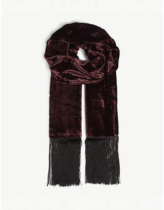 The Kooples Velvet scarf