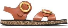 Joseph Buckled Leather Sandals