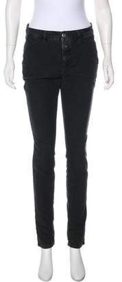Closed Mid-Rise Skinny Pants