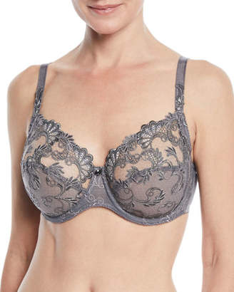 Lise Charmel Guipure Charming 3-Part Full-Cup Bra