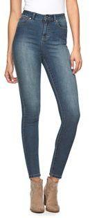 Women's Jennifer Lopez High-Rise Skinny Jeans $54 thestylecure.com