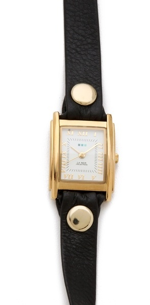La Mer Simple Wrap Watch