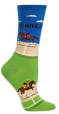 Hot Sox Women's Novelty Kentucky Crew Socks