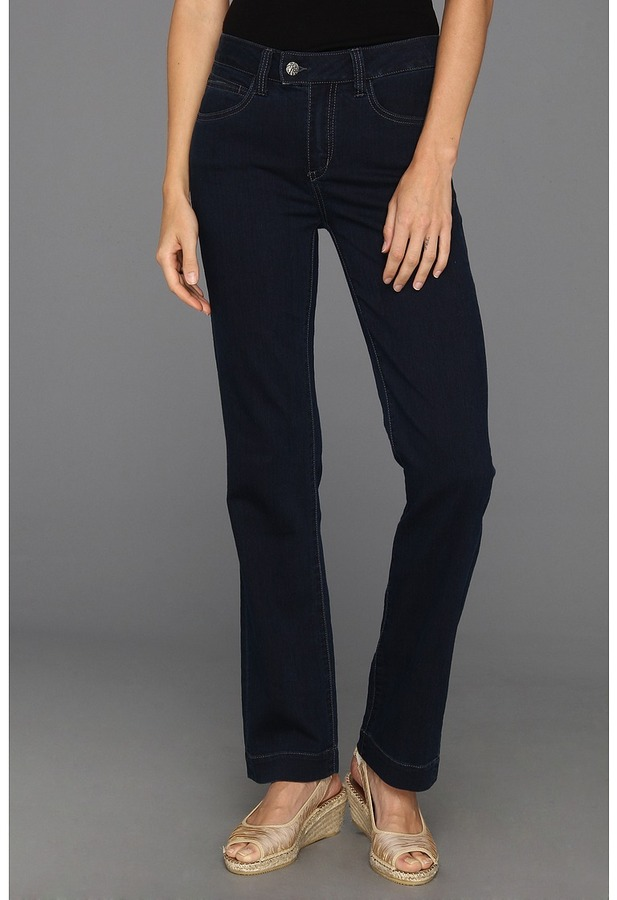 Miraclebody Jeans Zoey Straight Leg in Tahoe (Tahoe) - Apparel