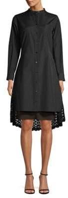 Diane von Furstenberg Lace Shirtdress