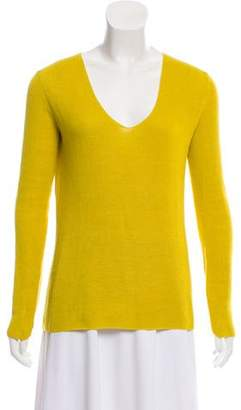 A.L.C. Cutout V-Neck Sweater