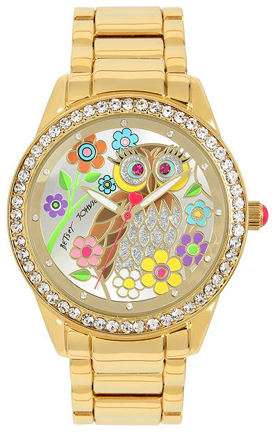 Betsey JohnsonFlower Power Giftboxed Watch