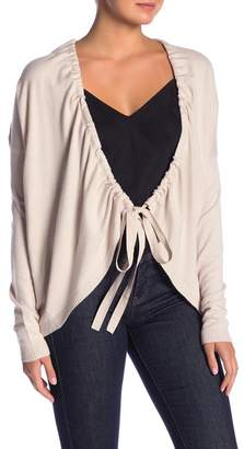 Love Stitch Drawstring Cardigan