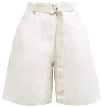4301596cad5d Lee Mathews - Bonnie Cotton Twill Shorts - Womens - Ivory