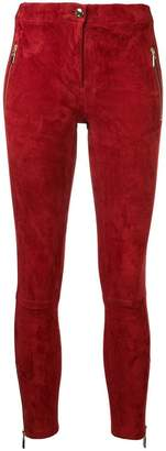 Arma high-waisted skinny trousers