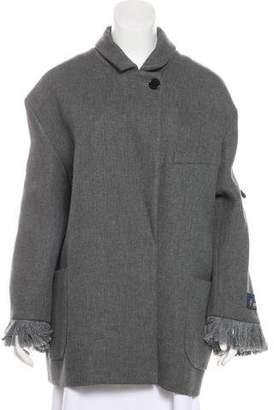 Zadig & Voltaire Wool-Blend Short Coat