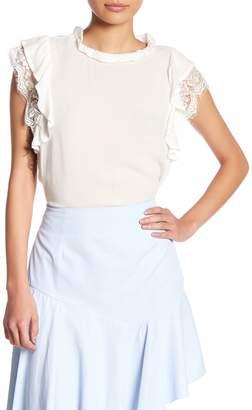 Romeo & Juliet Couture Lace Ruffle Blouse