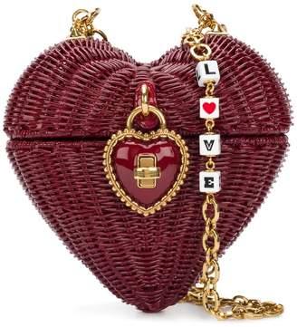 Heart Box shoulder bag