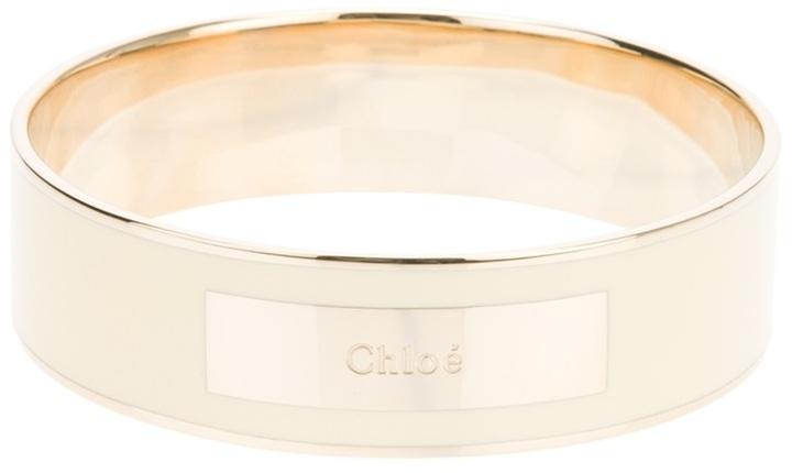 Chloé enameled bracelet
