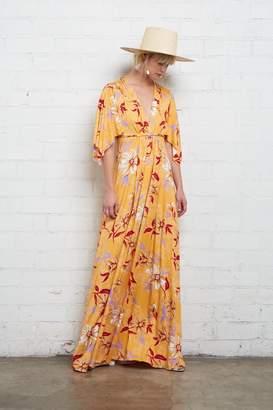 Rachel Pally Long Caftan Dress - Daffodil Print